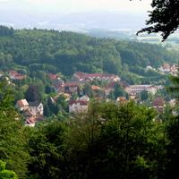 Blick auf Bad Liebenstein